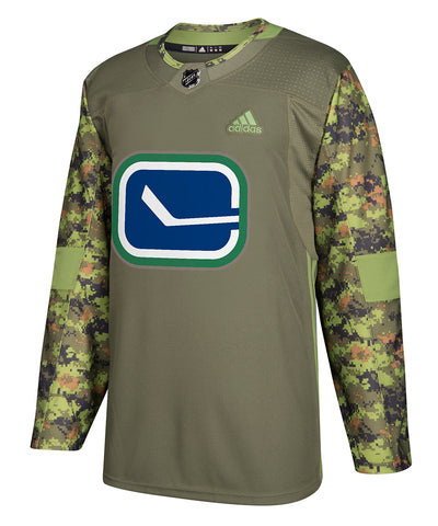 vancouver canucks adidas authentic camo jersey