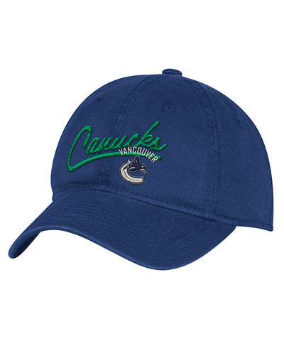 VANCOUVER CANUCKS ADIDAS WOMEN'S ADJUSTABLE SLOUCH HAT