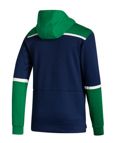 VANCOUVER CANUCKS ADIDAS MEN'S REVERSE RETRO UNDER THE LIGHTS PULLOVER HOODIE