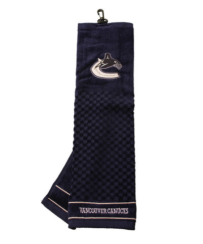 VANCOUVER CANUCKS EMBROIDERED GOLF CLUB TOWEL