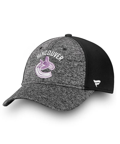 VANCOUVER CANUCKS FANATICS MEN'S HOCKEY FIGHTS CANCER 2018 HAT