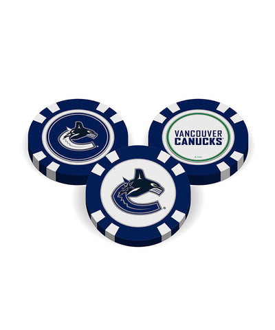 VANCOUVER CANUCKS GOLF POKER CHIPS