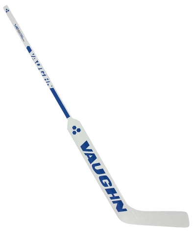 VAUGHN VELOCITY VE8 PRO CARBON SR GOALIE STICK - WHITE/BLUE