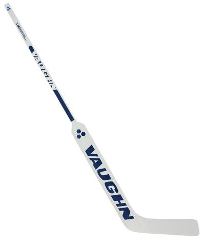 VAUGHN VELOCITY VE8 PRO CARBON SR GOALIE STICK - WHITE/NAVY