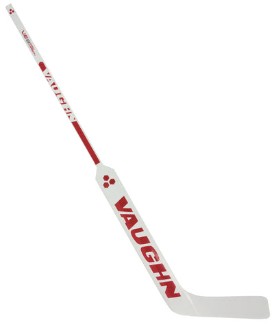 VAUGHN VELOCITY VE8 PRO CARBON SR GOALIE STICK - WHITE/RED