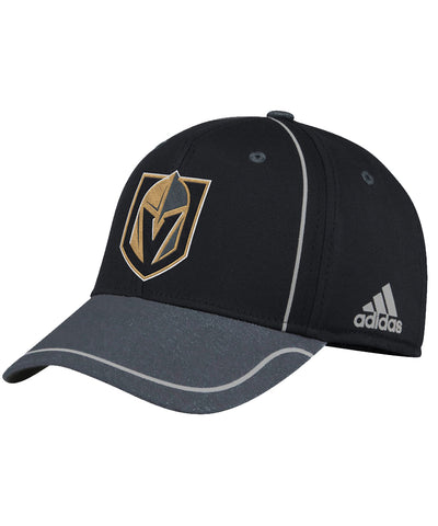 VEGAS GOLDEN KNIGHTS ADIDAS MEN'S 2018 NHL STRUCTURED DRAFT HAT