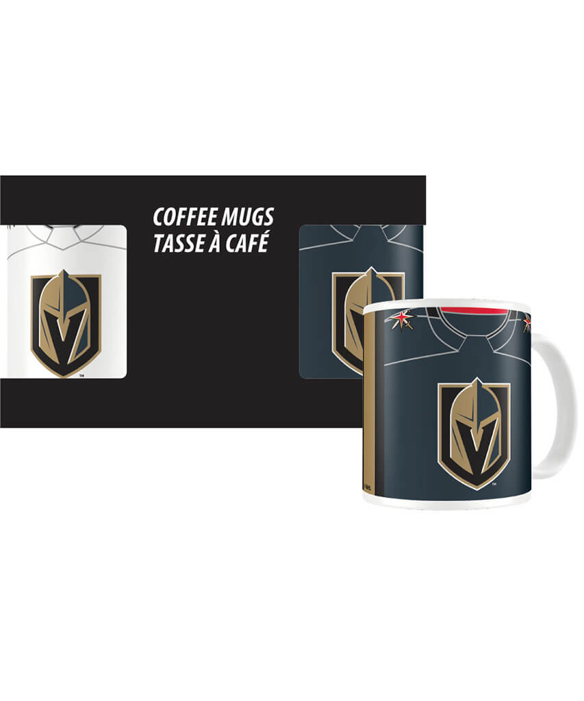 timeless design b2166 7a337 VEGAS GOLDEN KNIGHTS JERSEY MUG SET