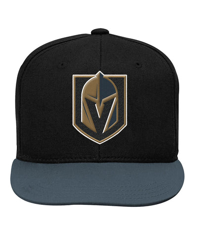 VEGAS GOLDEN KNIGHTS KID'S 2-TONE FLATBRIM SNAPBACK HAT