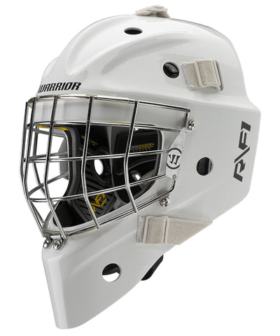 WARRIOR RITUAL R/F1 PRO SENIOR GOALIE MASK