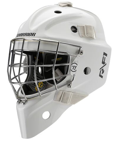 WARRIOR RITUAL R/F1+ SENIOR GOALIE MASK