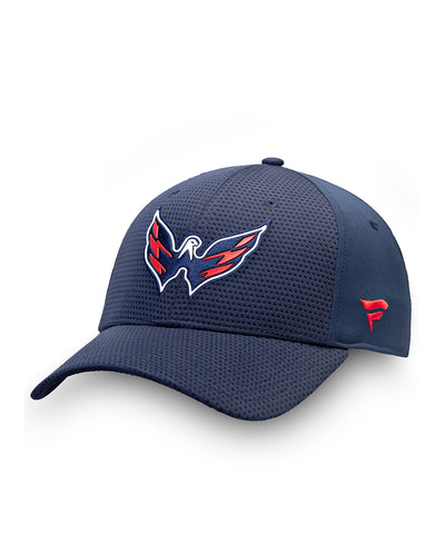 WASHINGTON CAPITALS FANATICS MEN'S RINKSIDE STRUCTURED STRETCH HAT