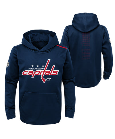 WASHINGTON CAPITALS KID'S AP RINKSIDE PRO FLEECE HOODIE
