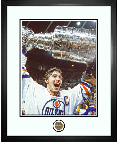 WAYNE GRETZKY EDMONTON OILERS ICONS COLLECTION - 18X22