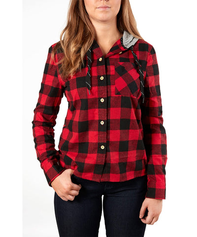 GONGSHOW HOCKEY WOMENS PLAID FOR THE LASSIE SWEATER