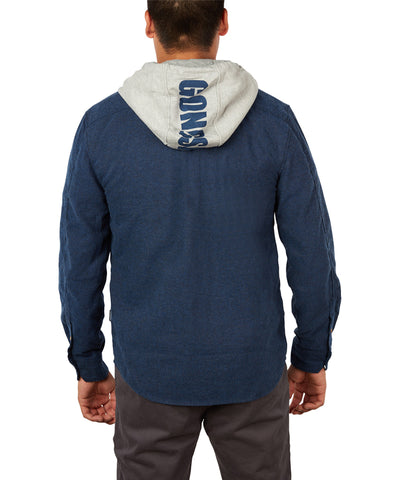 GONGSHOW MEN'S HOODED AND READY HOODIE