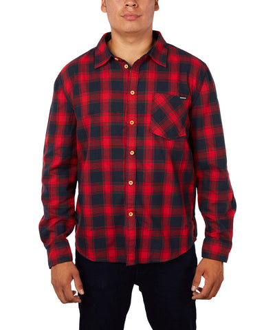 GONGSHOW MEN'S CLASSIC PLAID SHIRT