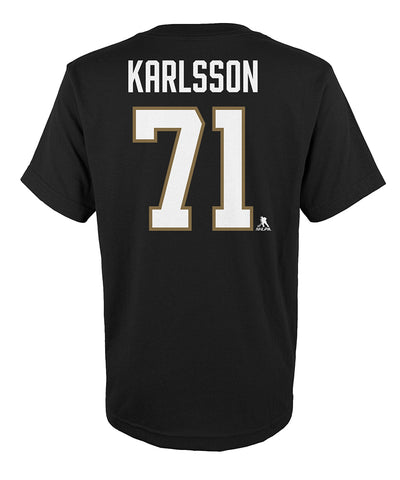 WILLIAM KARLSSON VEGAS GOLDEN KNIGHTS KID'S NAME AND NUMBER T SHIRT