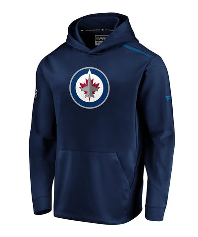 WINNIPEG JETS FANATICS MEN'S RINKSIDE SYNTH PULLOVER HOODIE