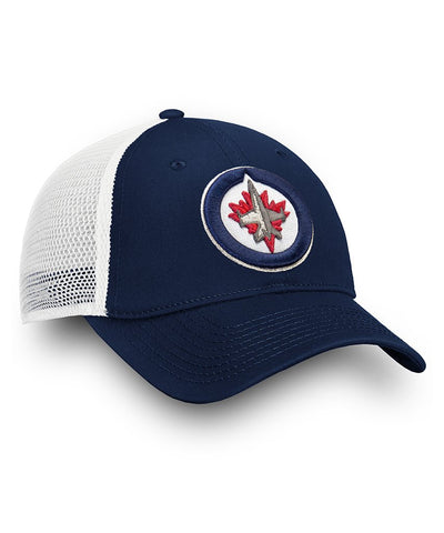 WINNIPEG JETS FANATICS MEN'S UNSTRUCTURED ADJUSTABLE MESH HAT