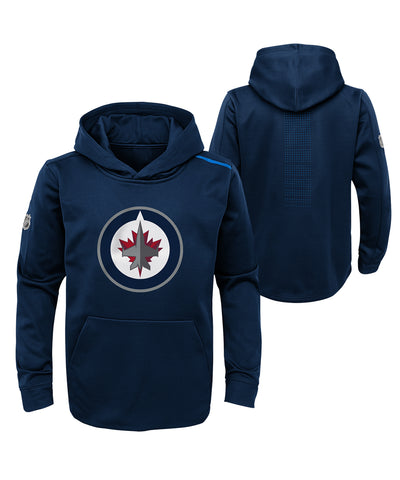 WINNIPEG JETS KID'S AP RINKSIDE PRO FLEECE HOODIE