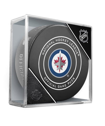 WINNIPEG JETS OFFICIAL 2018 NHL GAME PUCK