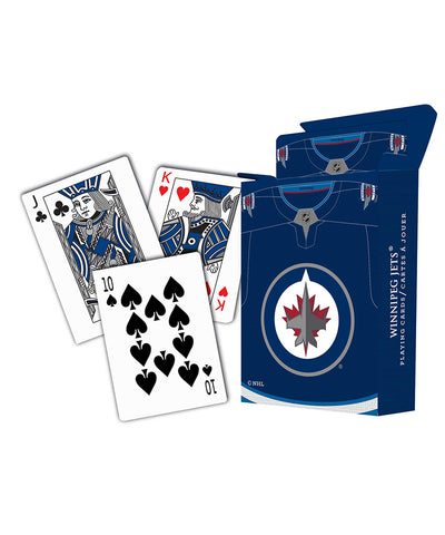 WINNIPEG JETS PLAYING CARDS - 10 PACK
