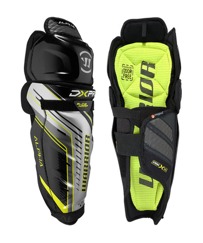 WARRIOR ALPHA DX PRO SR SHIN GUARDS