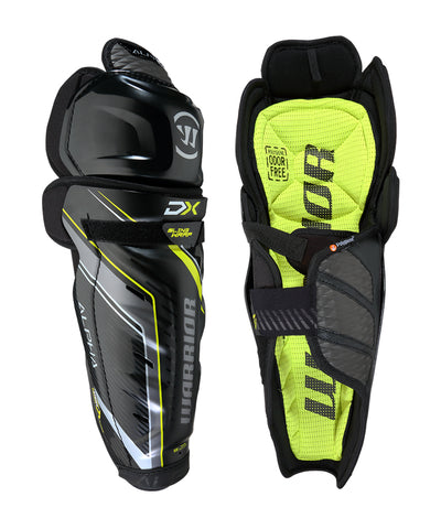 WARRIOR ALPHA DX JR SHIN GUARDS