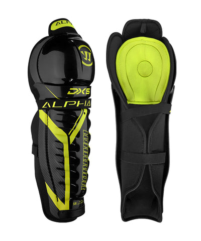 WARRIOR ALPHA DX5 SR SHIN GUARDS