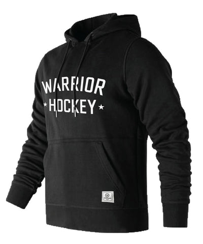 WARRIOR MEN'S STREET HOODIE - BLACK