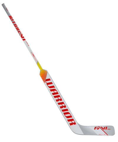 WARRIOR RITUAL V1 SR GOALIE STICK - SILVER/WHITE/RED