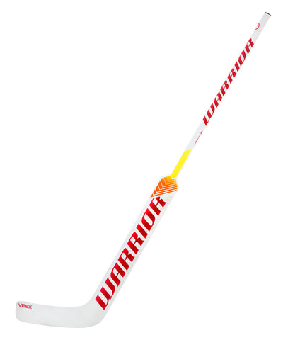 WARRIOR RITUAL V1+ SR GOALIE STICK - WHITE/RED