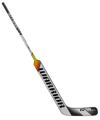 WARRIOR RITUAL V1 PRO SR GOALIE STICK - SILVER/WHITE/BLACK