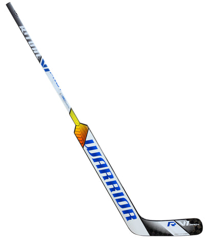 WARRIOR RITUAL V1 PRO+ SR GOALIE STICK - BLACK/WHITE/BLUE