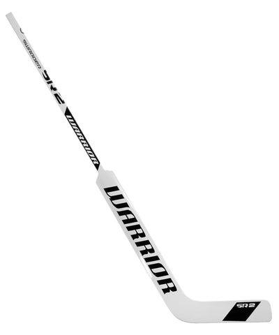 WARRIOR SWAGGER SR2 INT GOALIE STICK - WHITE/BLACK