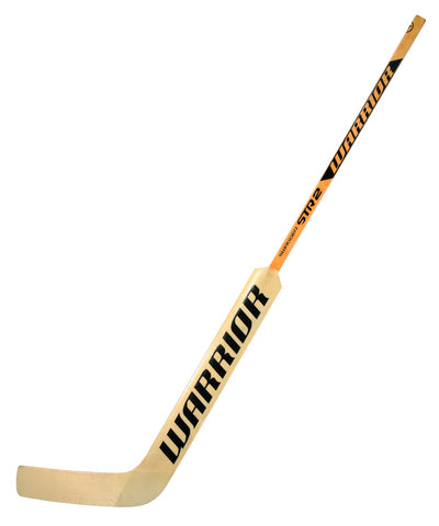 WARRIOR SWAGGER STR2 SR GOALIE STICK - NATURAL/BLACK