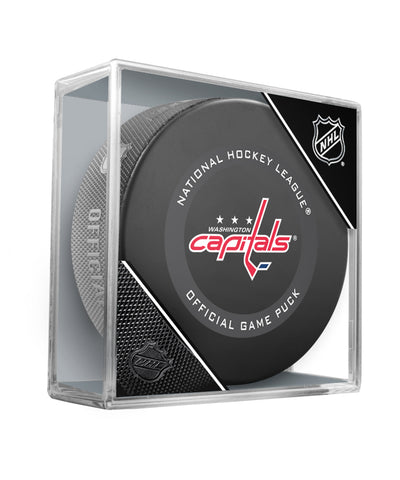 WASHINGTON CAPITALS 2019 OFFICIAL GAME PUCK