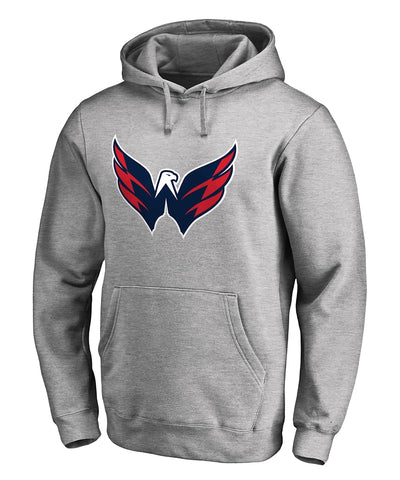WASHINGTON CAPITALS FANATICS MEN'S PRIMARY LOGO HOODIE