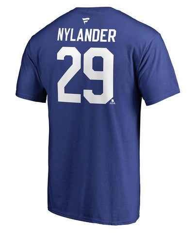 WILLIAM NYLANDER TORONTO MAPLE LEAFS FANATICS MEN'S NAME AND NUMBER T SHIRT