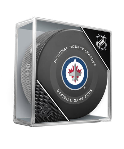 WINNIPEG JETS 2019 OFFICIAL GAME PUCK