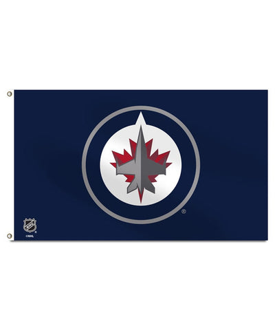 WINNIPEG JETS 3'X5' BANNER FLAG