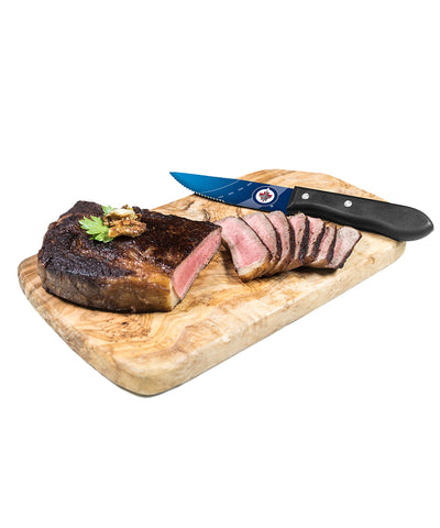 WINNIPEG JETS 4 PIECE STEAK KNIFE SET