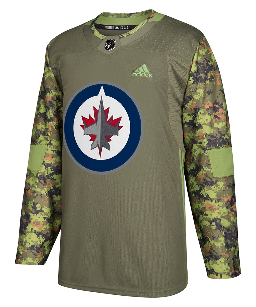 detailing 529d5 f26e1 WINNIPEG JETS ADIDAS AUTHENTIC CAMO JERSEY