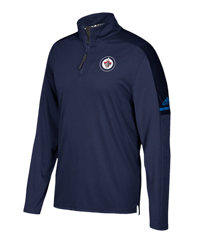WINNIPEG JETS ADIDAS MEN'S AUTHENTIC PRO 1/4 ZIP