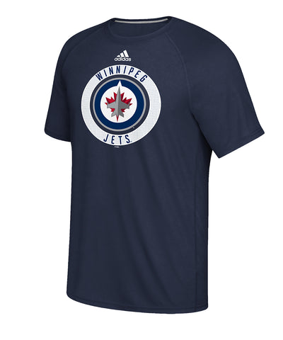 WINNIPEG JETS ADIDAS MEN'S PRACTICE GRAPHIC T SHIRT