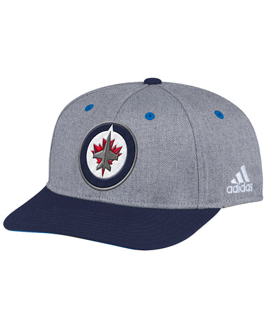 WINNIPEG JETS ADIDAS TWO TONE STRUCTURED ADJUSTABLE HAT
