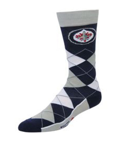 WINNIPEG JETS ARGYLE SOCKS