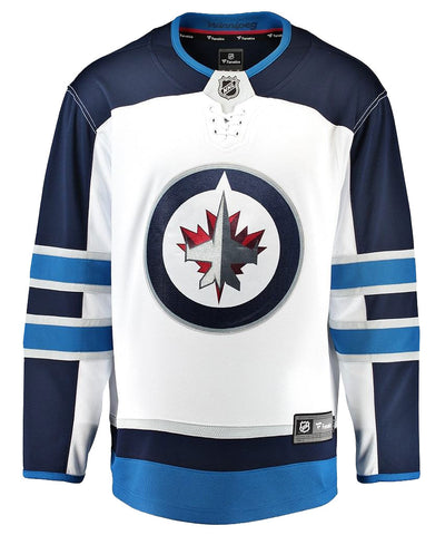 FANATICS WINNIPEG JETS MENS AWAY BREAKAWAY JERSEY