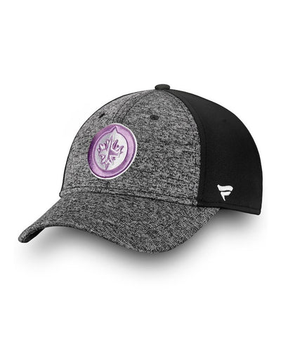 WINNIPEG JETS FANATICS MEN'S HOCKEY FIGHTS CANCER 2018 HAT