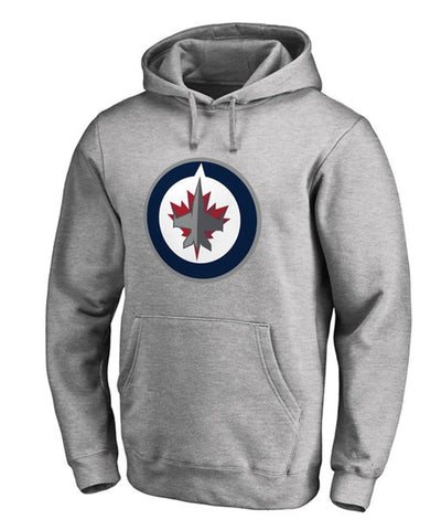 WINNIPEG JETS FANATICS MEN'S PRIMARY LOGO HOODIE